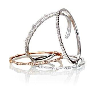 platinum diamond tennis bracelet design