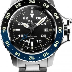 Ball Engineer Hydrocarbon AeroGMT II Blue/Black DG2018C-S10C-BK