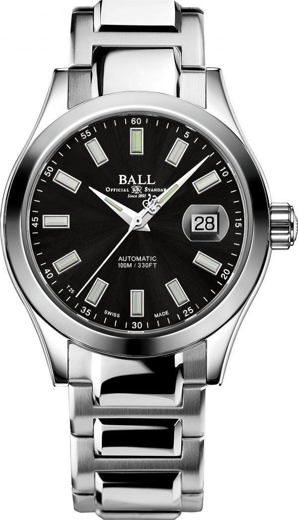 Ball Engineer III Marvelight Black Dial NM2026C-S23J-BK