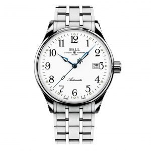 Ball Trainmaster Standard Time 135 Anniversary NM3288D-SJ-WH