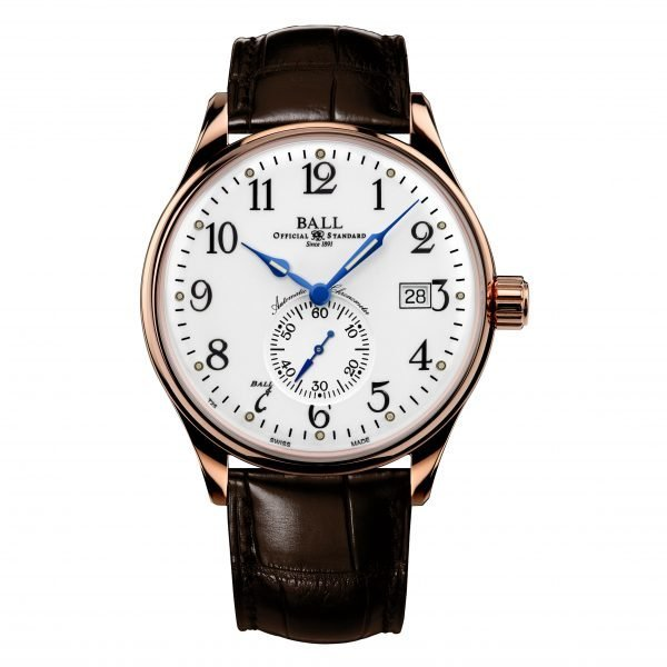 Ball Trainmaster Standard Time NM3888D-PG-LCJ-WH