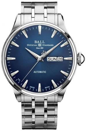 Product photo of Ball Trainmaster Eternity 39.5mm NM2080D-S1J-BE