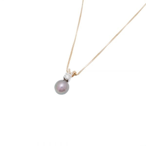 14Kt Yellow Gold Chain and Pendant