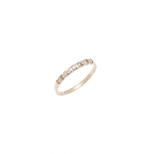 14kt Yellow Gold Estate Diamond Ring