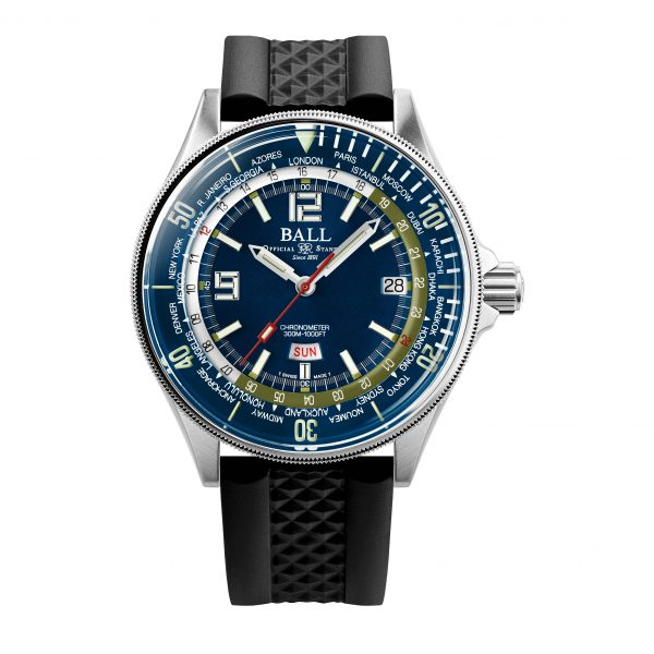 Ball Engineer Master II Diver Worldtime DG2232A-PC-BE