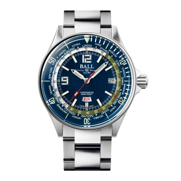 Ball Engineer Master II Diver Worldtime DG2232A-SC-BE
