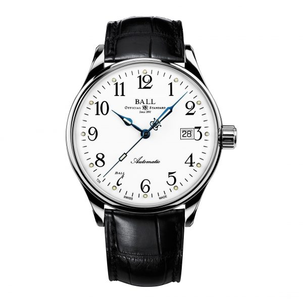 Ball Trainmaster Standard Time 135 Anniversary NM3288D-LLJ-WH
